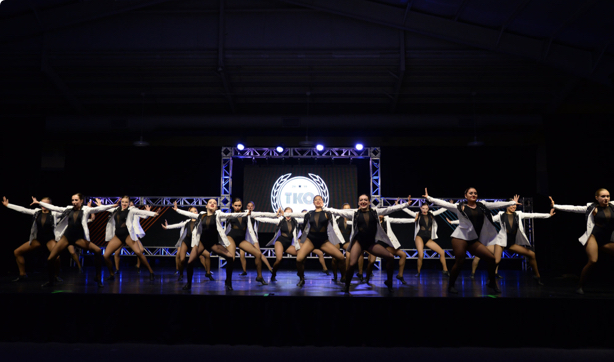 Capital City Dance's competitive dance team at the TKO competition