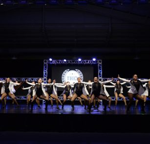 Capital City Dancers perform at The Knockout Dance Competition