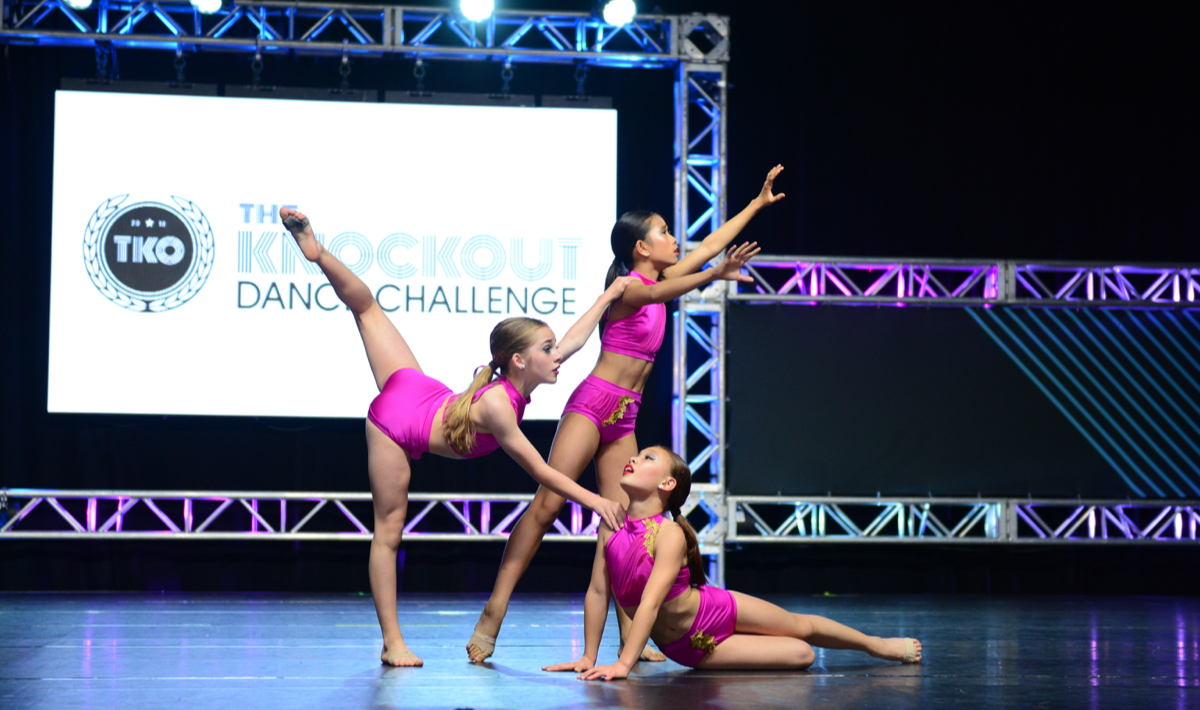 Capital City Dancers perform at the knockout dance challenge