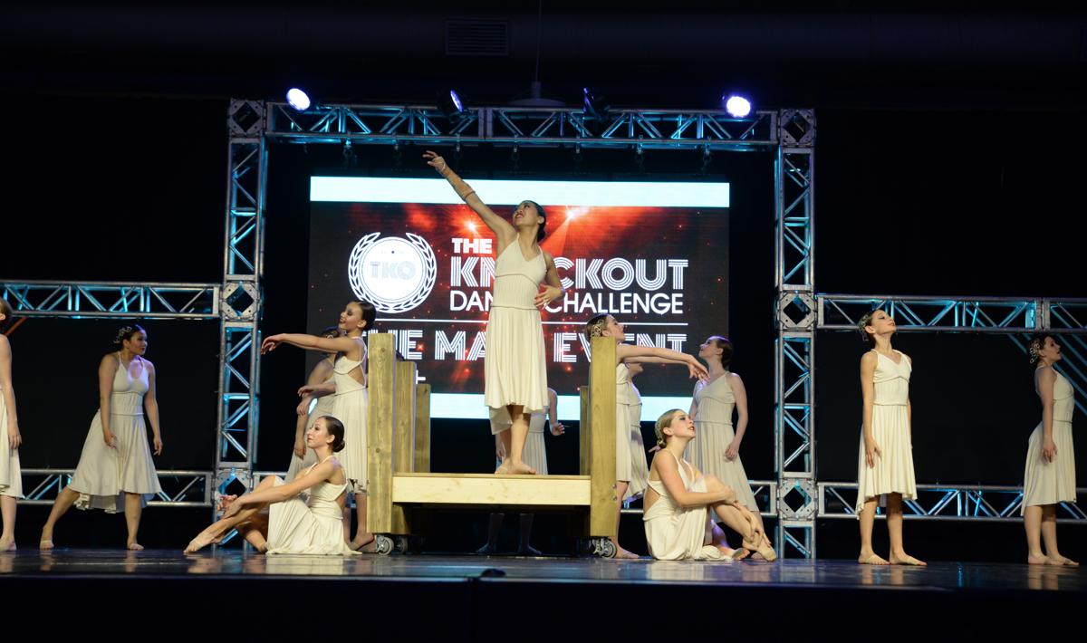 Capital City Dancers performing at The Knockout Dance Competition