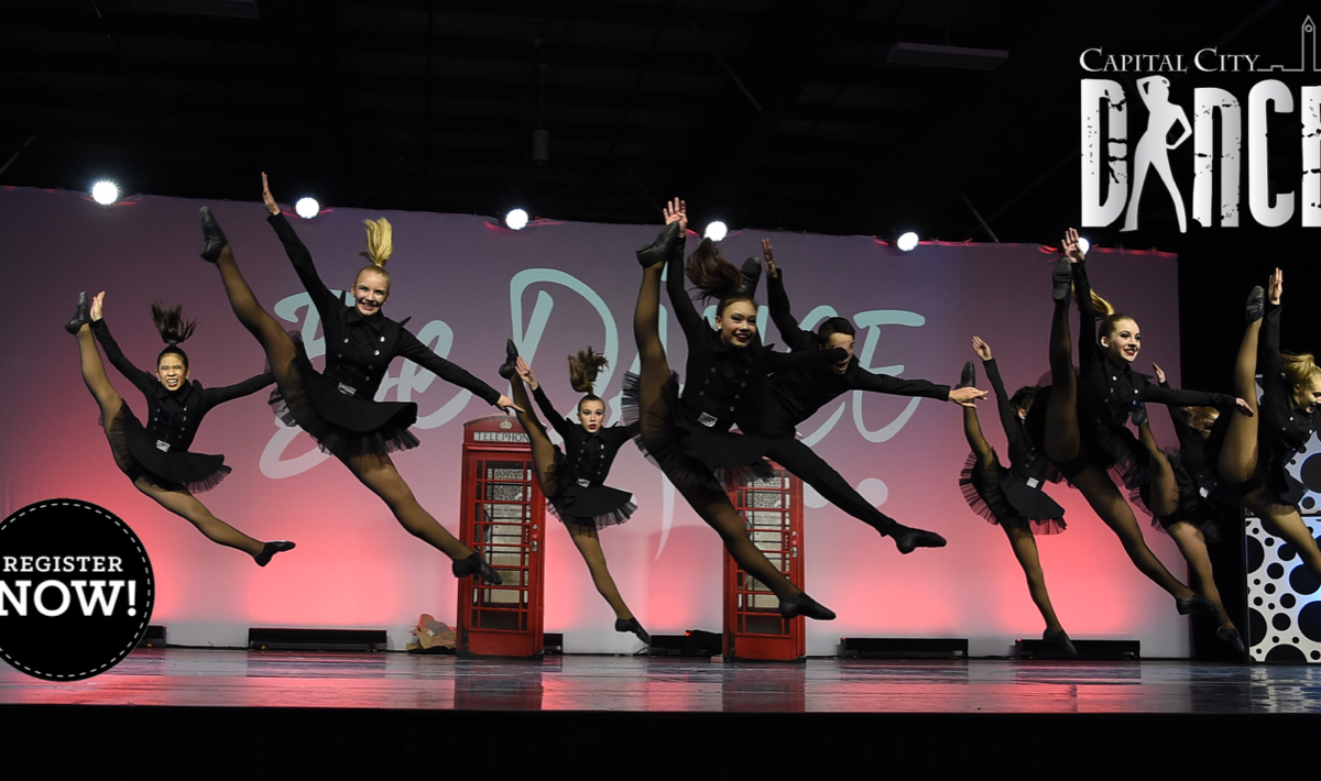 Capital City Dance's team performs onstage